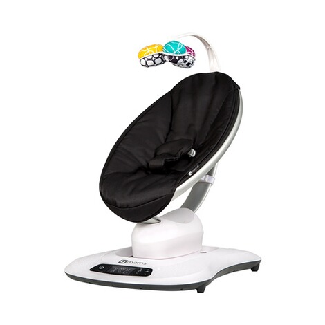 4MOMS MAMAROO 4 Babywippe 3D  Classic Black 1