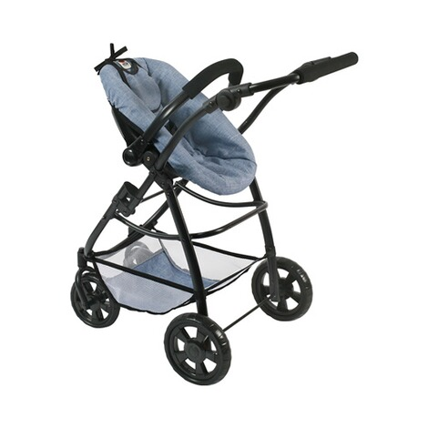 BAYER CHIC  Kombi-Puppenwagen 3 in 1 Emotion All In  jeans/blau 6