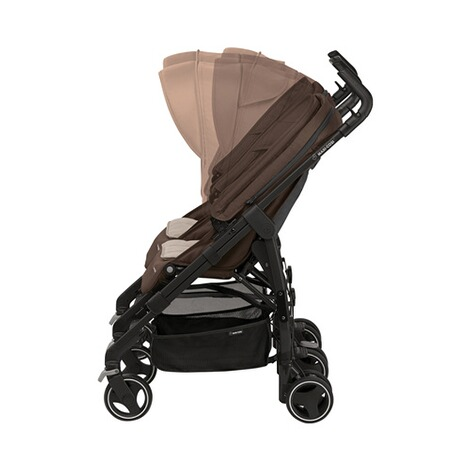 MAXI-COSI DANA FOR 2 Zwillings- und Geschwisterbuggy Design 2018  Nomad Brown 4