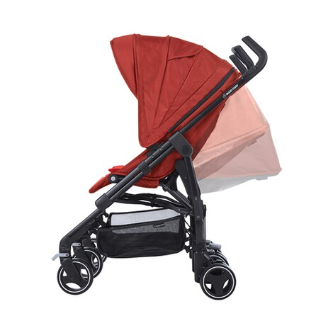 MAXI-COSI DANA FOR 2 Zwillings- und Geschwisterbuggy Design 2018  Vivid Red 4