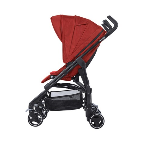 MAXI-COSI DANA FOR 2 Zwillings- und Geschwisterbuggy Design 2018  Vivid Red 3