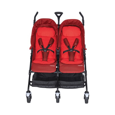 MAXI-COSI DANA FOR 2 Zwillings- und Geschwisterbuggy Design 2018  Vivid Red 2