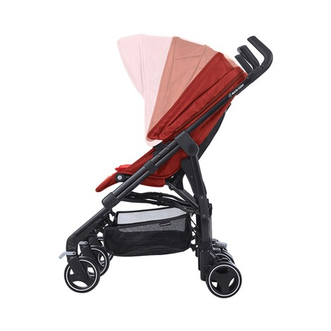 MAXI-COSI DANA FOR 2 Zwillings- und Geschwisterbuggy Design 2018  Vivid Red 5