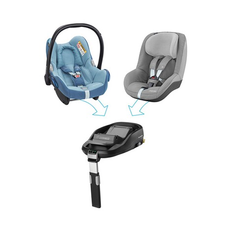 MAXI-COSI CABRIOFIX Babyschale Design 2018  Frequency Blue 6