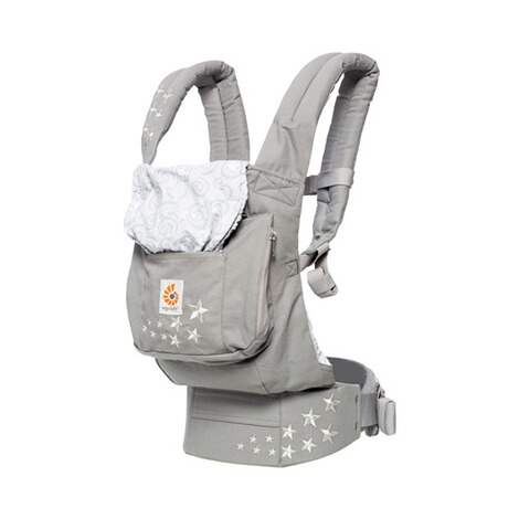 ERGOBABY® ORIGINAL Babytrage, 3 Tragepositionen, Design 2018  Galaxy Grey 1