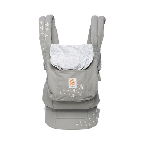 ERGOBABY® ORIGINAL Babytrage, 3 Tragepositionen, Design 2018  Galaxy Grey 3