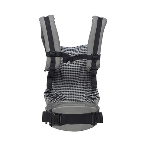 ERGOBABY® ORIGINAL Babytrage, 3 Tragepositionen, Design 2018  Steel Plaid 3