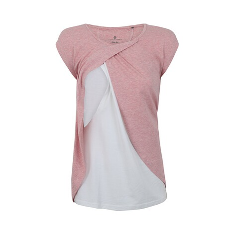 BELLYBUTTON  Umstands- und Still-T-Shirt  temple melange rose 2