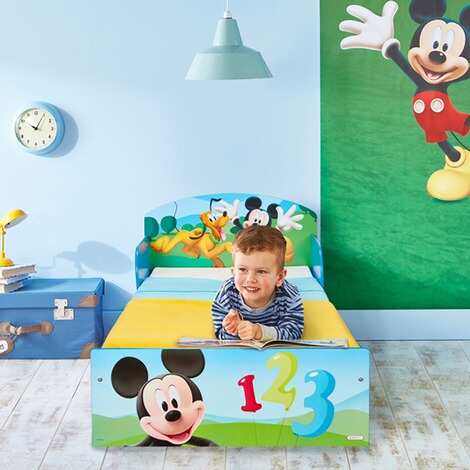 WORLDSAPART DISNEY MICKEY MOUSE & FRIENDS Kinderbett Mickey 70 x 140 cm 4