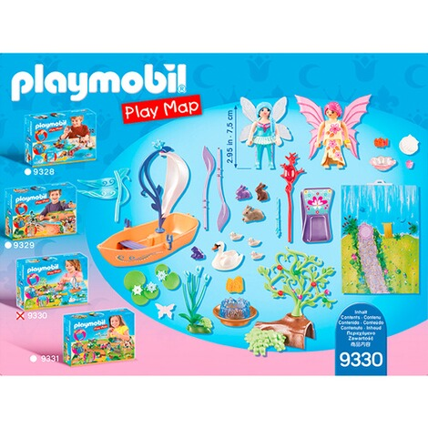 PLAYMOBIL® PLAY MAP 9330 Play Map Feenland 3