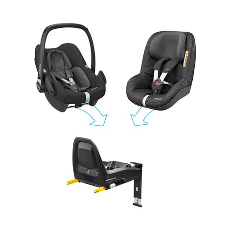 maxi cosi isofix base familyfix one i size f r rock pebble plus 2way pearl pearl one i size. Black Bedroom Furniture Sets. Home Design Ideas