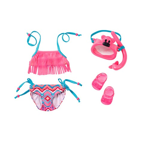 ZAPF BABY BORN Puppen Outfit Deluxe Schwimm Set Play&Fun 1