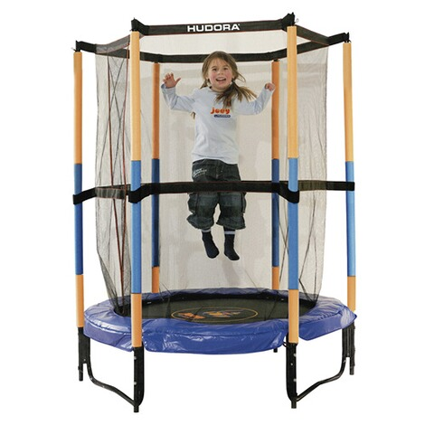 hudora trampolin mit sicherheitsnetz online kaufen baby walz. Black Bedroom Furniture Sets. Home Design Ideas