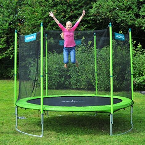 hudora trampolin mit sicherheitsnetz 250 cm online kaufen baby walz. Black Bedroom Furniture Sets. Home Design Ideas