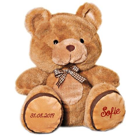 Teddybär mit Namen & Geburtsdatum online kaufen   Die moderne Hausfrau