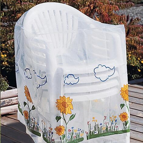 abdeckhaube f r 4 gartenst hle online kaufen die moderne hausfrau. Black Bedroom Furniture Sets. Home Design Ideas