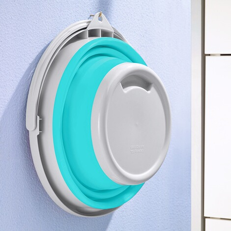 genialo®  Opvouwbare emmer  turquoise 2