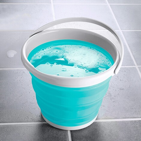 genialo®  Opvouwbare emmer  turquoise 1