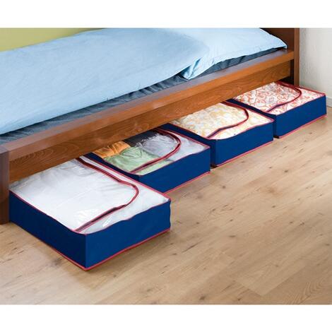 housses dessous de lit 4 pi ces commander en ligne. Black Bedroom Furniture Sets. Home Design Ideas