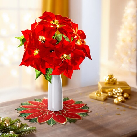 Bouquet de Noël à LED 1