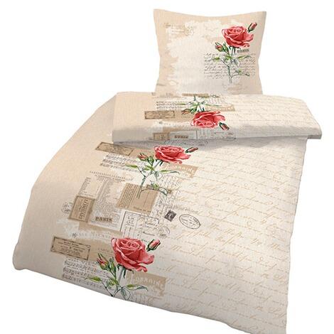 parure de lit roses commander en ligne maison. Black Bedroom Furniture Sets. Home Design Ideas