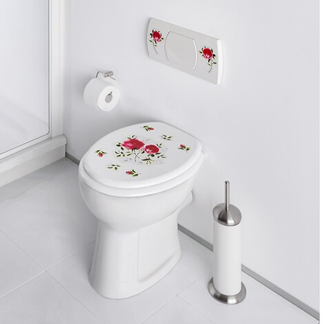 Stickers WC « Roses », 9 pièces 2