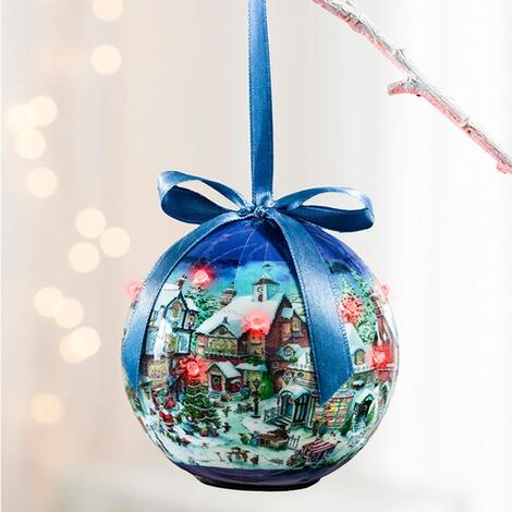 Led kugel weihnachtsdorf online kaufen die moderne hausfrau - Weihnachtlich dekorieren ab wann ...