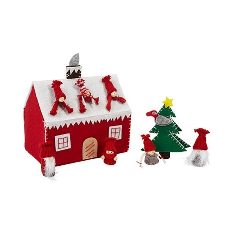 bastel set weihnachtsdorf online kaufen die moderne. Black Bedroom Furniture Sets. Home Design Ideas
