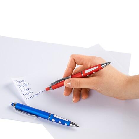 Kugelschreiber Mit Radiergummi