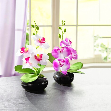 Orchidee-Gesteck  lila 2
