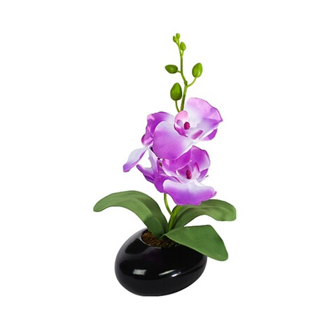 Orchidee-Gesteck  lila 1