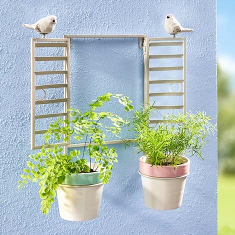 blumen wandfenster online kaufen die moderne hausfrau. Black Bedroom Furniture Sets. Home Design Ideas