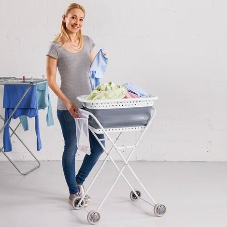 w schekorb trolley online kaufen die moderne hausfrau. Black Bedroom Furniture Sets. Home Design Ideas