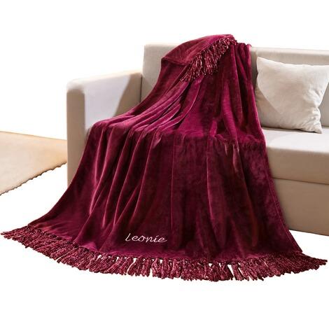 vivadomo fransen kuscheldecke mit namen online kaufen die moderne hausfrau. Black Bedroom Furniture Sets. Home Design Ideas