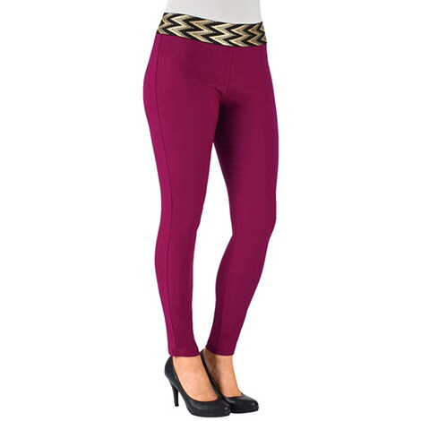 Pantalon confort  rouge 1