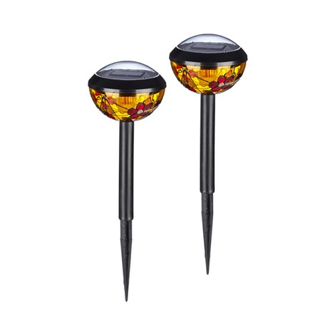 Solar lampen tiffany 2 st ck online kaufen die for Solar lampen