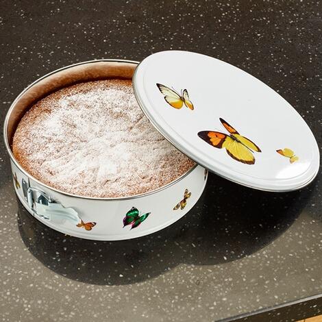 """Kuchenform mit Deckel """"Schmetterling"""" von """"Die Moderne Hausfrau"""""""