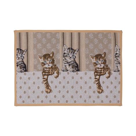 vivadomo teppich l ufer katzenbande online kaufen die moderne hausfrau. Black Bedroom Furniture Sets. Home Design Ideas