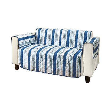 Vivadomo housse de protection r versible pour fauteuil marine commander en ligne maison for Housse de protection pour canape et fauteuil