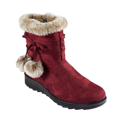 wonderWALK  Bottines femmes « Confort »  bordeaux 1