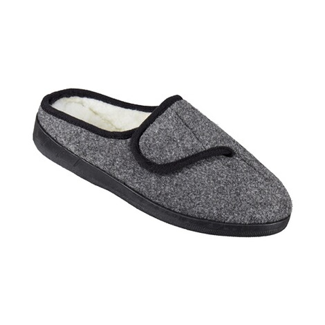 Mules « Louise »  gris 1