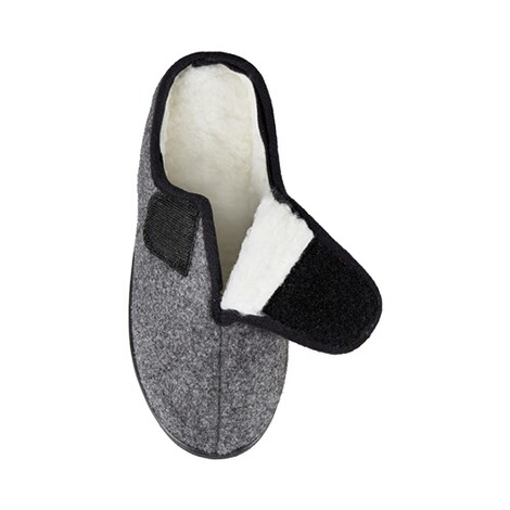 Mules « Louise »  gris 2