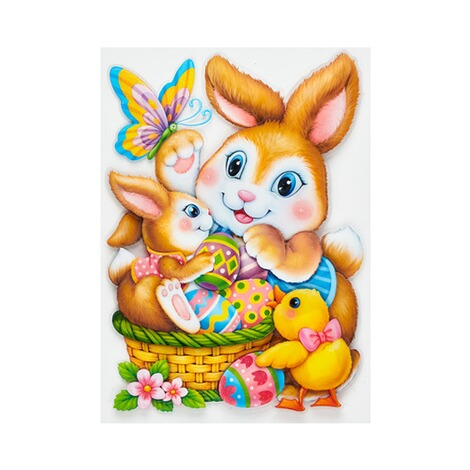 "3D-Sticker ""Osterhasen"" 1"