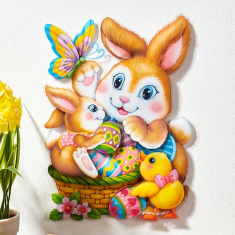 "3D-Sticker ""Osterhasen"" 2"