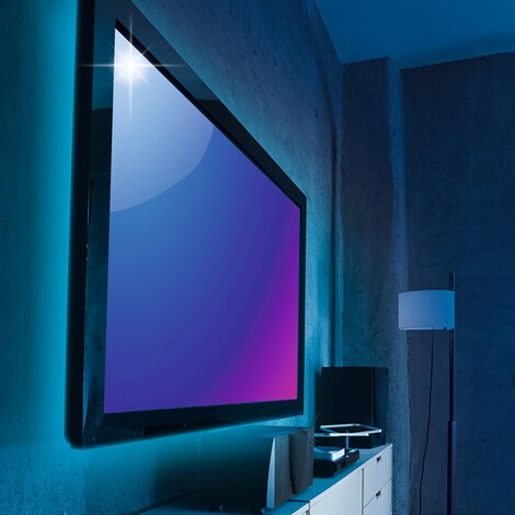 easymaxx led tv hintergrundbeleuchtung online kaufen die. Black Bedroom Furniture Sets. Home Design Ideas