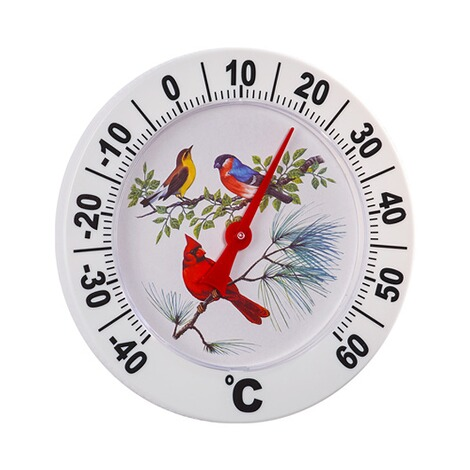 "Maxi-thermometer ""Vogels"" 1"