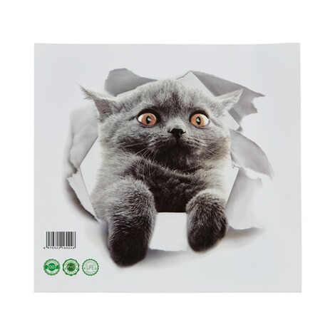 "Deco-sticker ""Kater Ludwig"" 1"