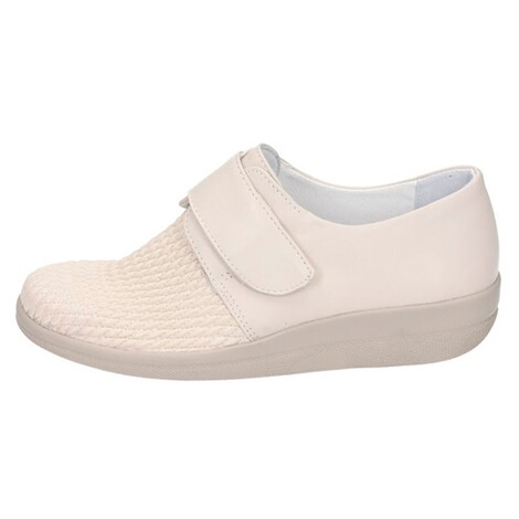 "Damen-Halbschuh ""Stretch""  creme 1"