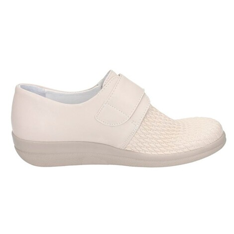 "Damen-Halbschuh ""Stretch""  creme 2"