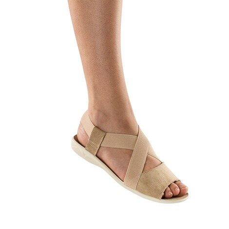Damessandalen Stretch Plus  beige 3
